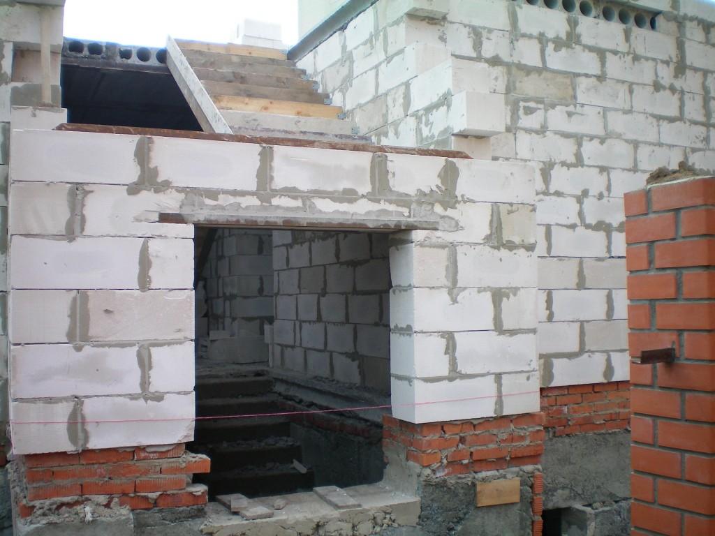 Строим дом из пеноблока