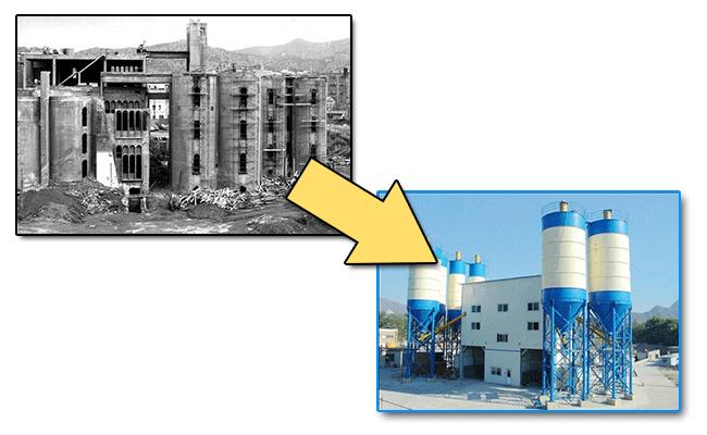 Модернизация бетонного завода