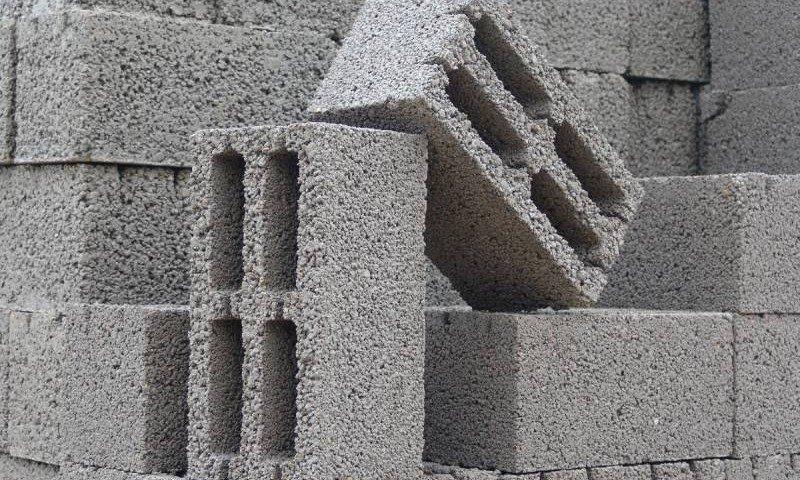 Бетонные блоки из герамзита