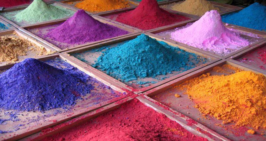 Красители для цветного бетона